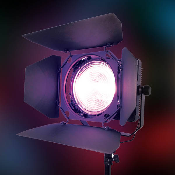 Zylight F8-B LED UV Blacklight Fresnel