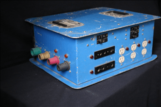 Distro 200 amp Single Phase Distro Box (Blue)