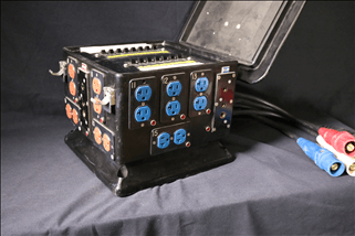 Distro 12x20amp /3x60amp Box