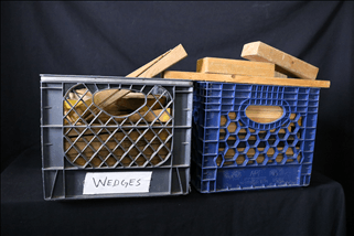 Crate of Cribbing or Wedges