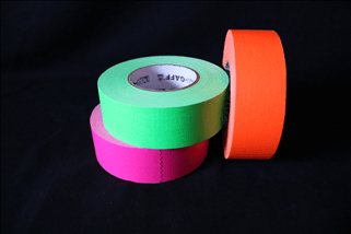 Pro-Gaffers 2″ Gaff Tape – Fluorescent Colors