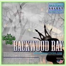 Froggy's Fog Backwood Bay Fog Fluid 2.5gallon