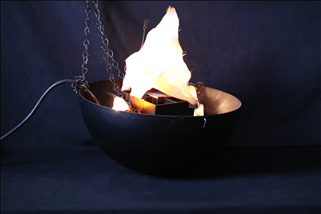 Le Flame Fire Instrument in Bowl