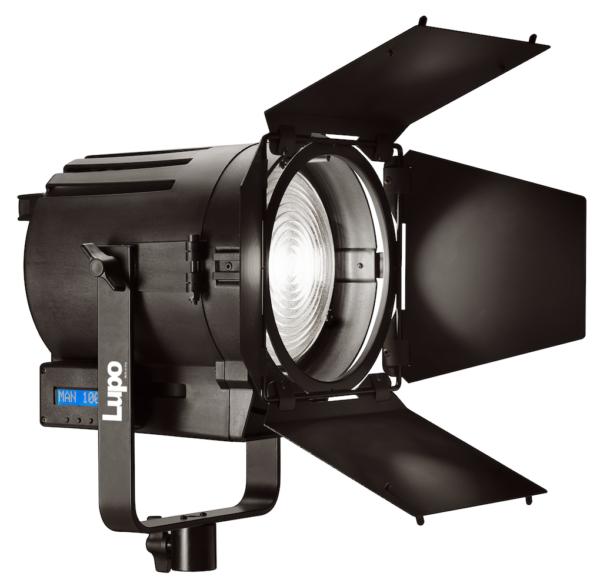 Lupolux LED Fresnel 4.5″ 50watt Daylight