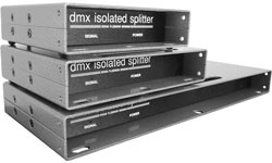 DMX Splitters, Nodes & Repeaters