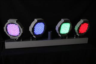Apollo Multi Form 4 Light LED Bar