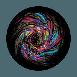 Apollo Glass Standard Colorscenic (3+ Color)  Gobo