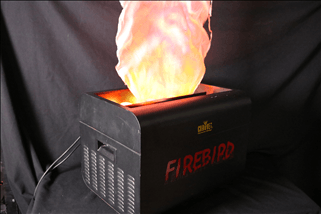 Fire Effect – Firebird 110v Large Silk Flame